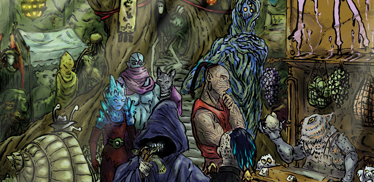 The Goblin Market by Gennifer Bone